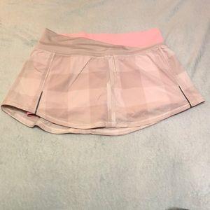 Lululemon Run Pace Skirt in Size 4